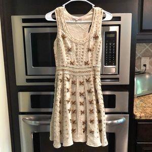 Calypso St Barth Beaded Linen Dress - never worn